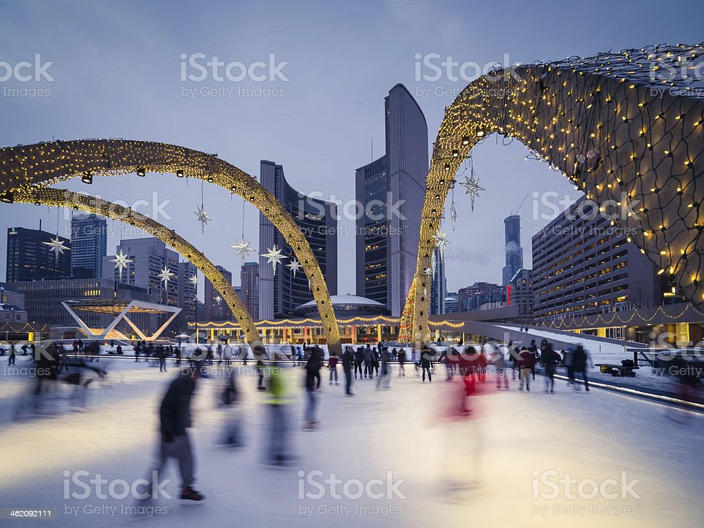 Nathan Phillips Square stock photo