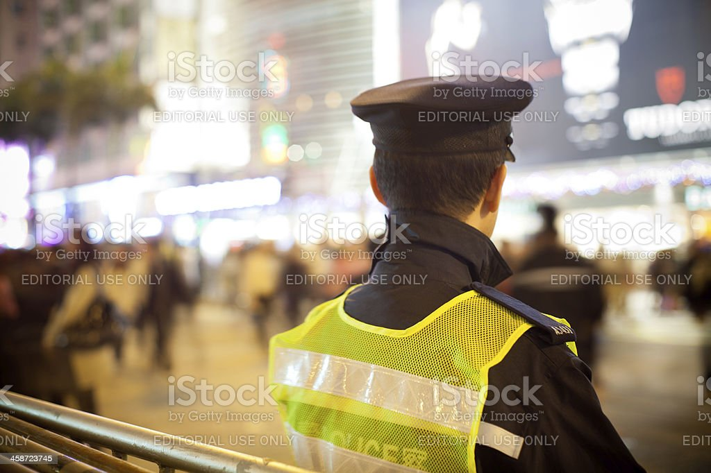 Nathan road royalty-free stock photo