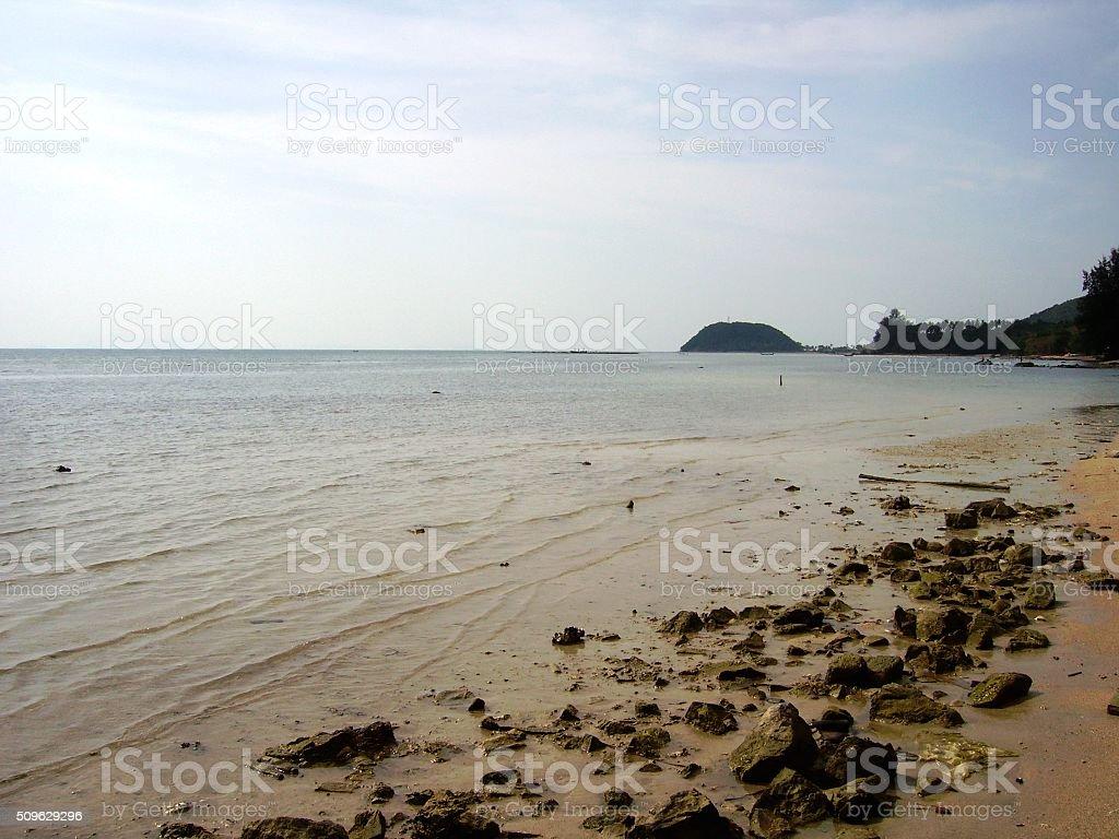 Nathon beach, Koh Samui - Thailand stock photo