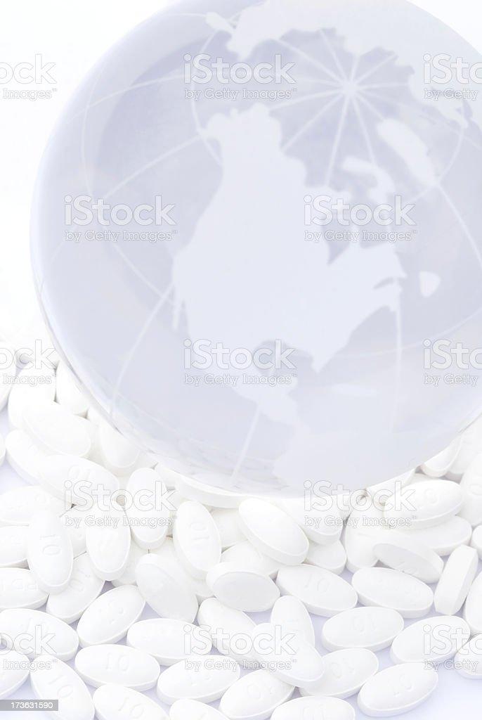 Nation on pills! - II royalty-free stock photo