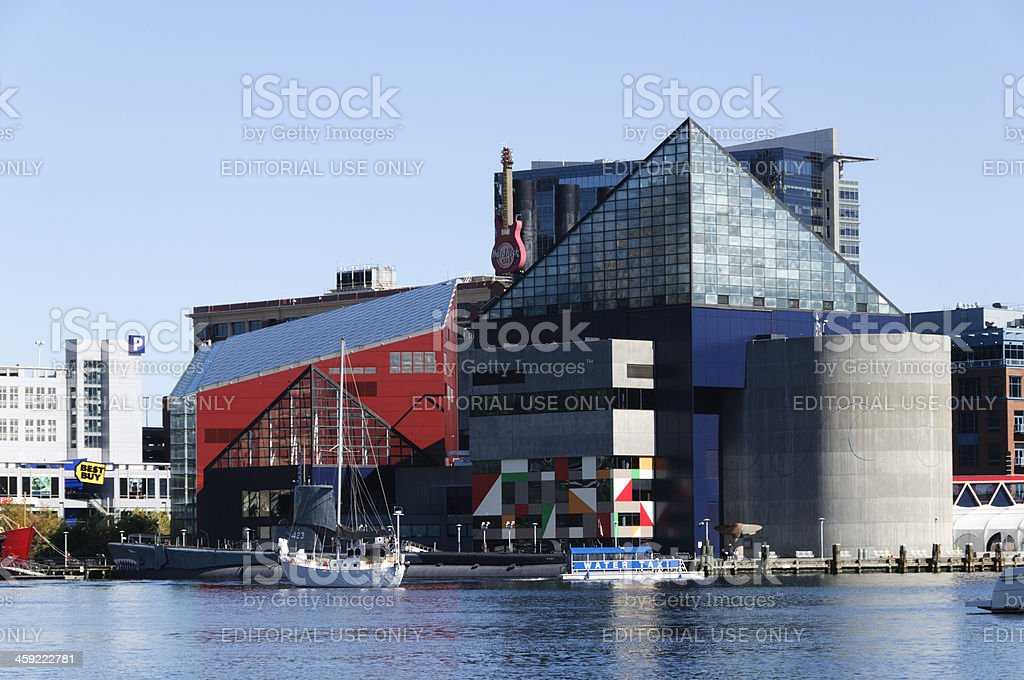National Aquarium in Baltimore, Maryland stock photo