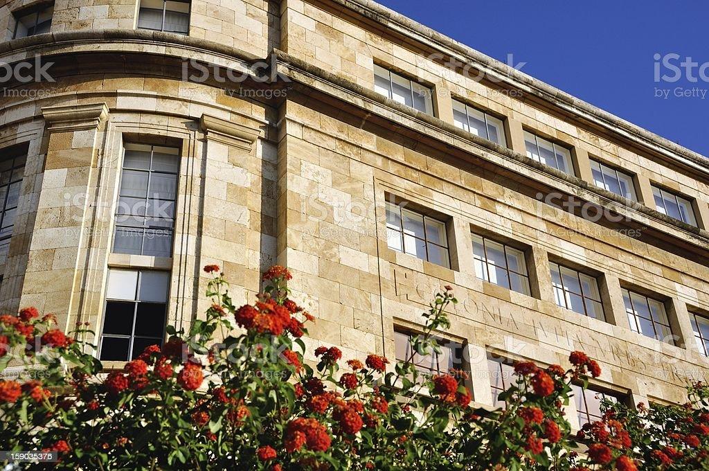 National Archeologic Museum of Tarragona, Spain stock photo