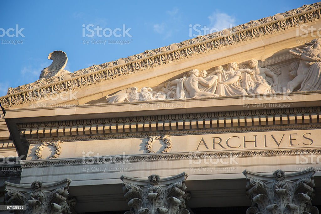 National Archives stock photo