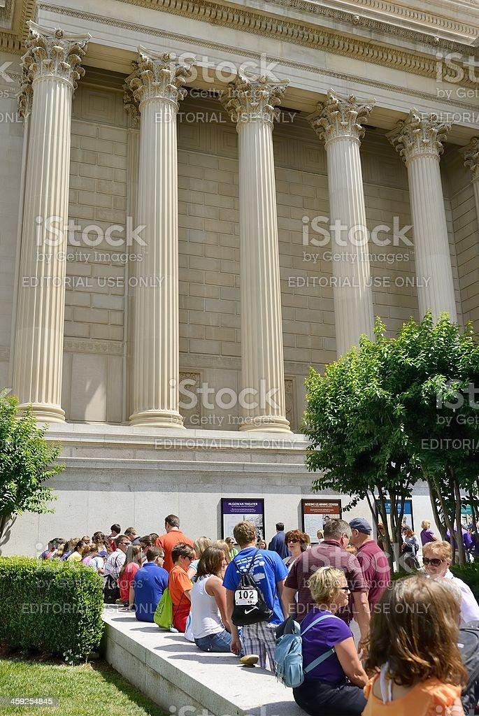 National Archives, Washington DC stock photo