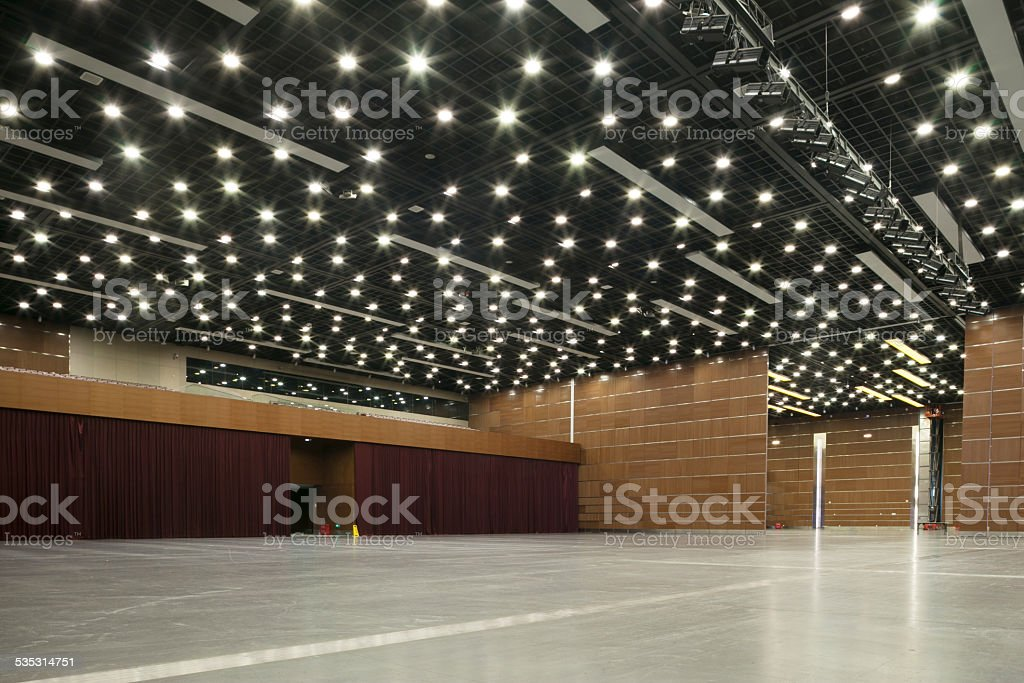 National art center performance hall interior. stock photo