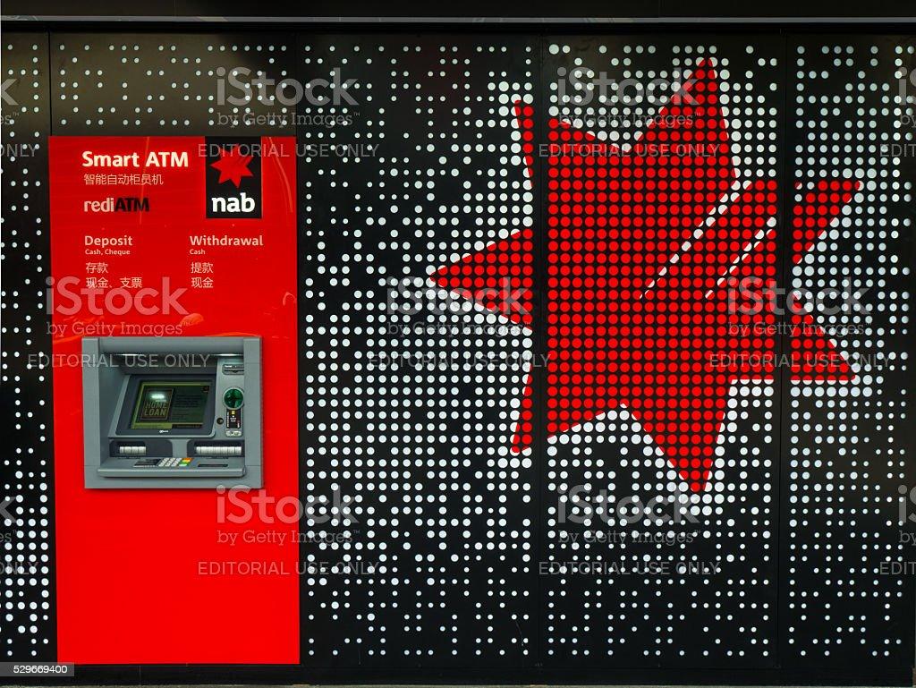National Australia Bank branch stock photo