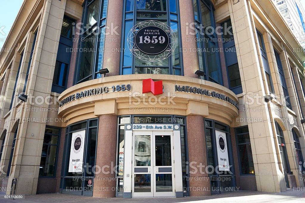 National Bank of Canada (Banque Nationale du Canada) stock photo