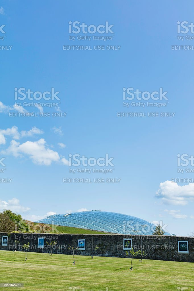 National Botanic Garden of Wales stock photo