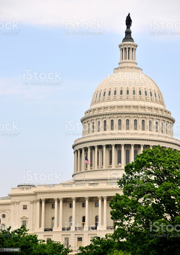 National Capitol royalty-free stock photo