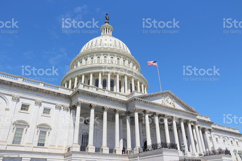 National Capitol stock photo