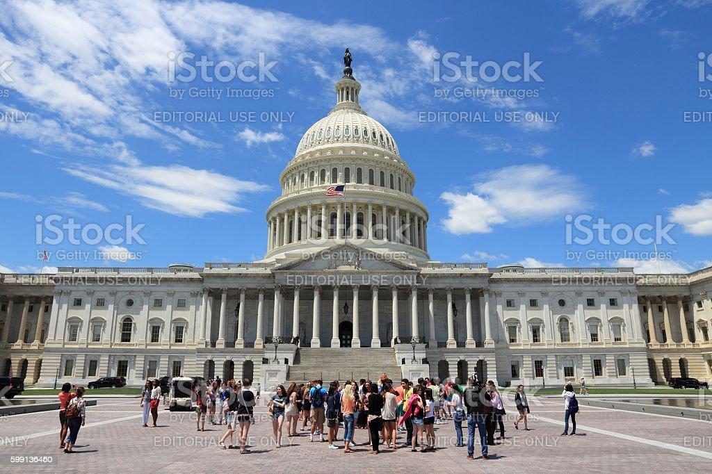National Capitol USA stock photo