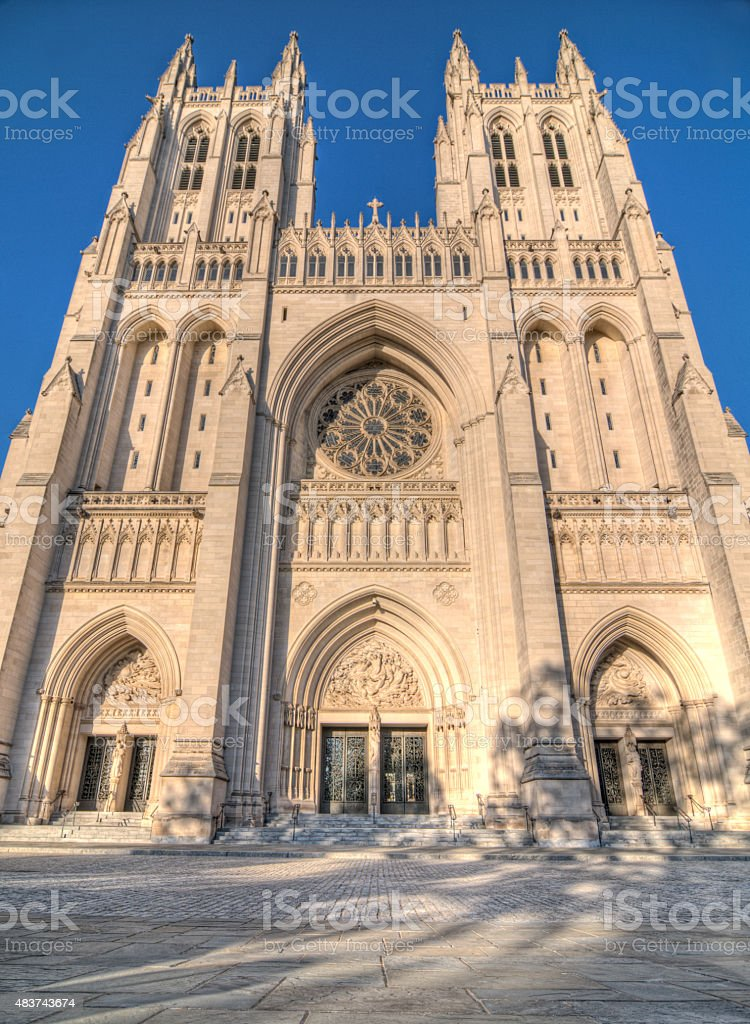 National Cathedral stock photo