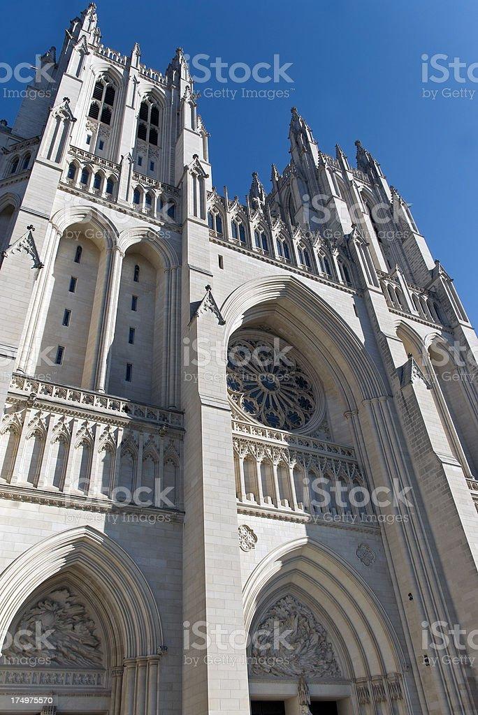 National Cathedral, Washington D.C. royalty-free stock photo