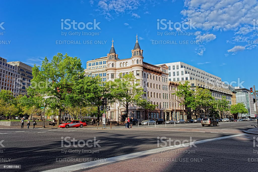 National Council of Negro Women building in Washington DC stock photo