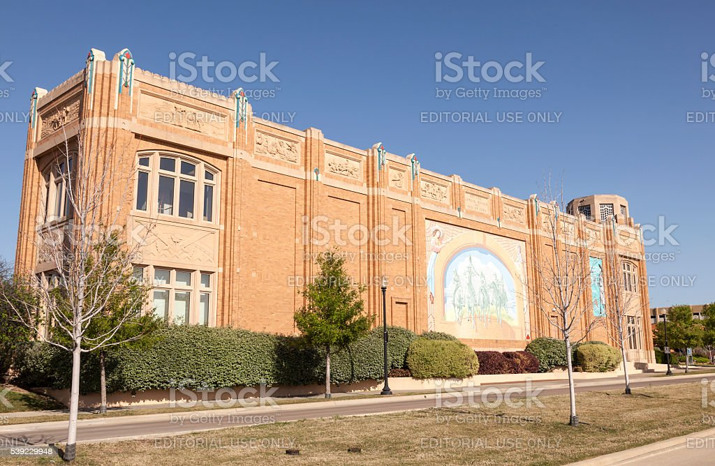 National Cowgirl Museum in Fort Worth stock photo