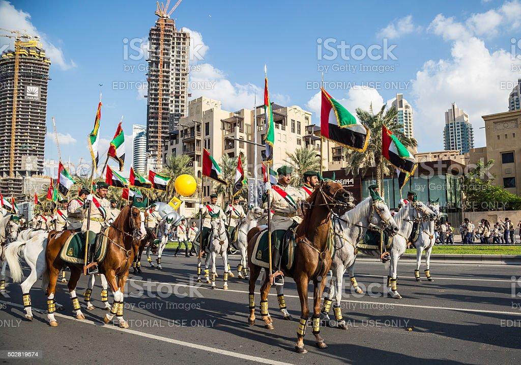UAE National Day stock photo