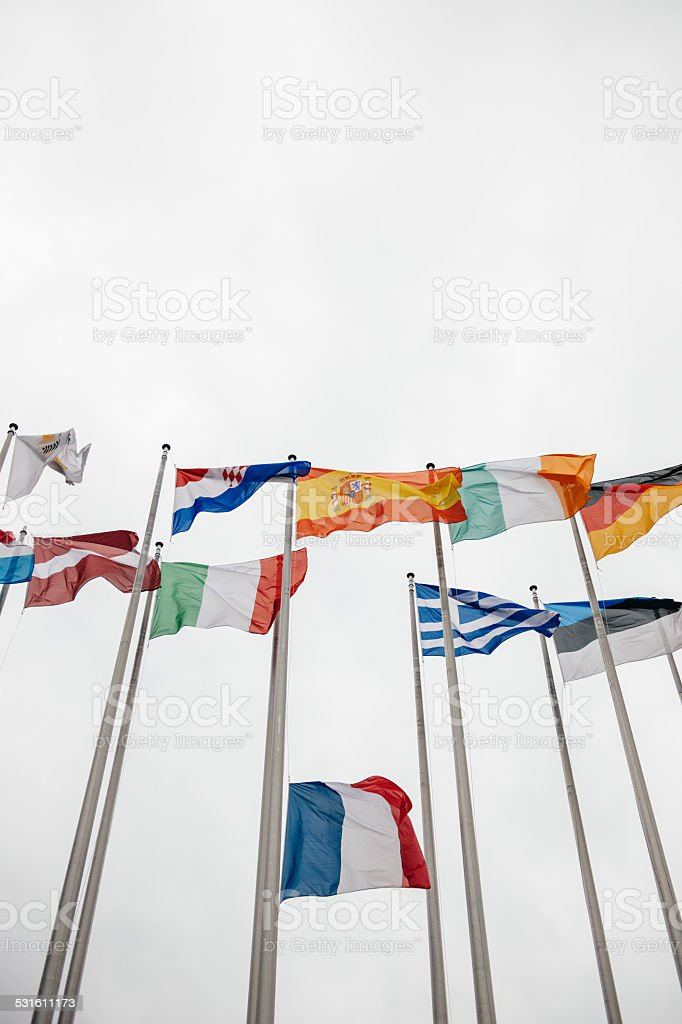 National Days of Mourning in France stock photo