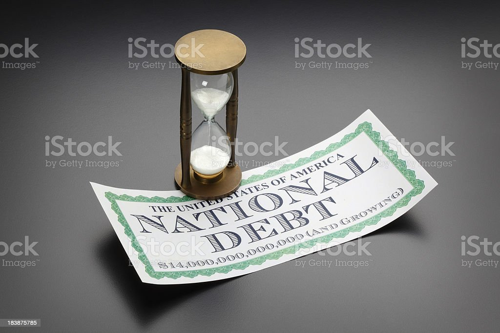 National Debt royalty-free stock photo