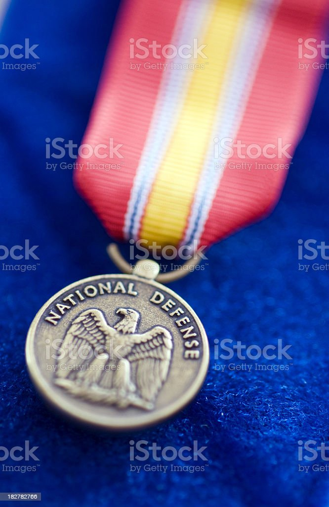 National Defense Service Medal royalty-free stock photo