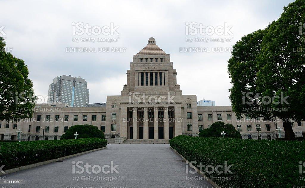 National Diet Building, Tokyo, Japan stock photo