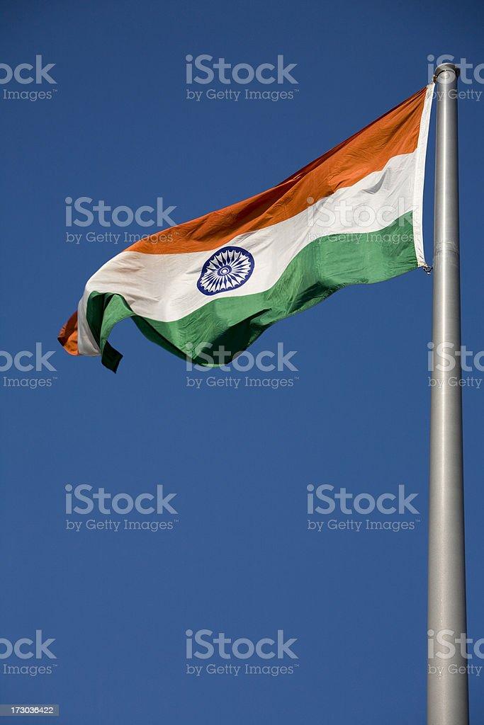 National Flag India royalty-free stock photo