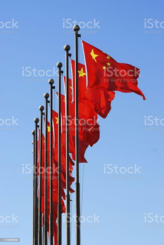national flag of China royalty-free stock photo