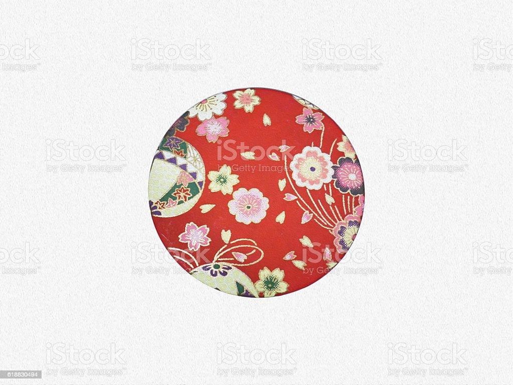 National Flag of Japan stock photo