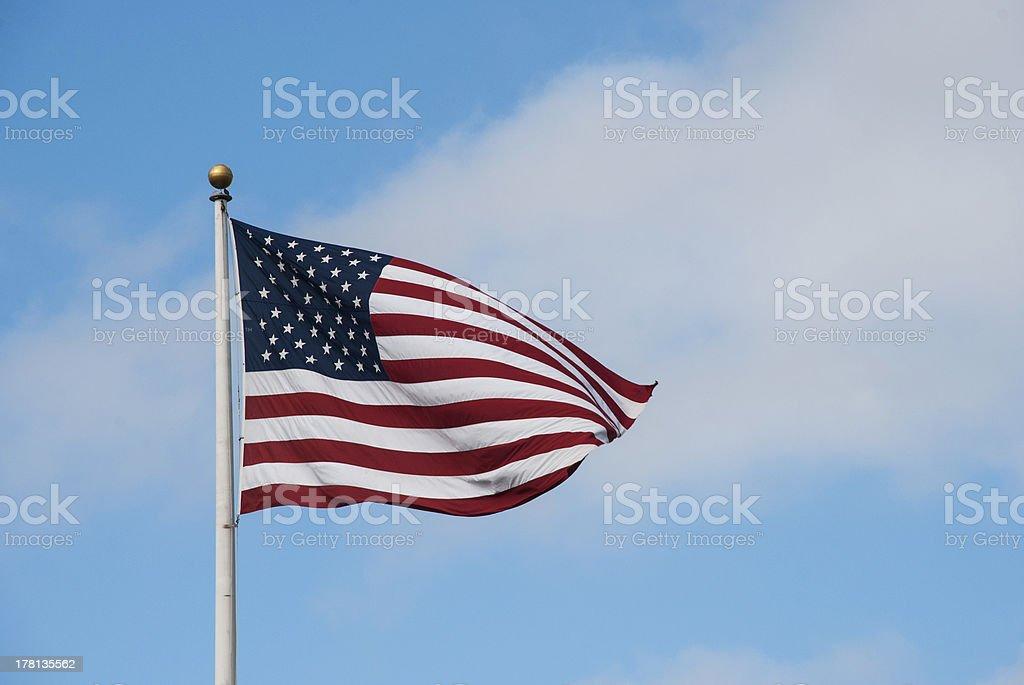 USA national flag royalty-free stock photo