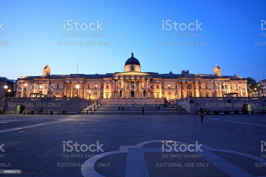 National Gallery, London stock photo