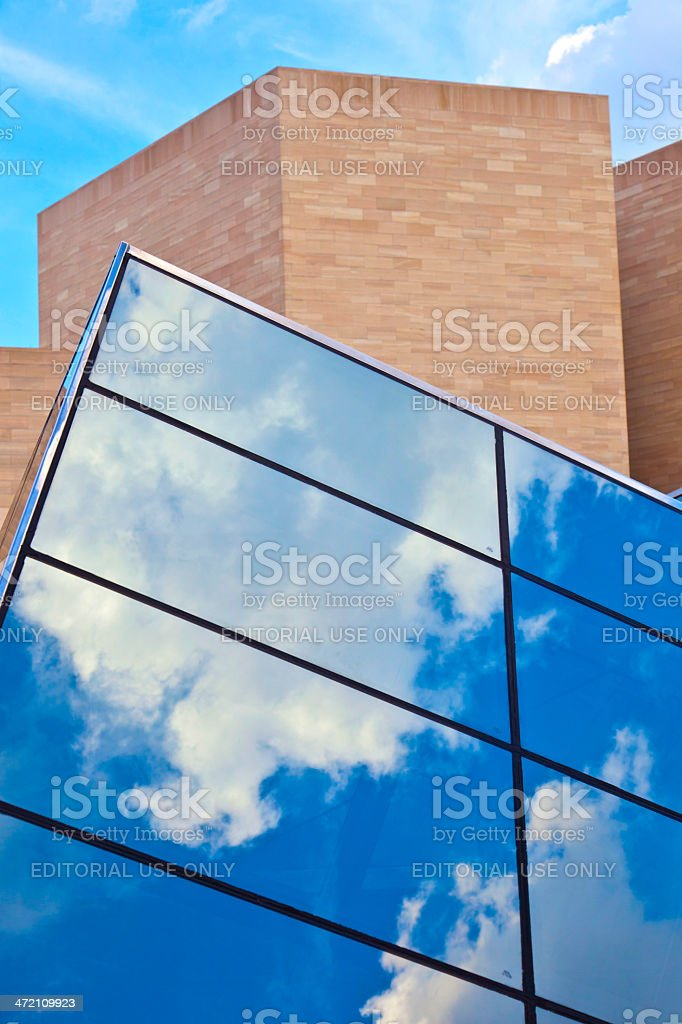 National Gallery of Art in Washington DC stock photo