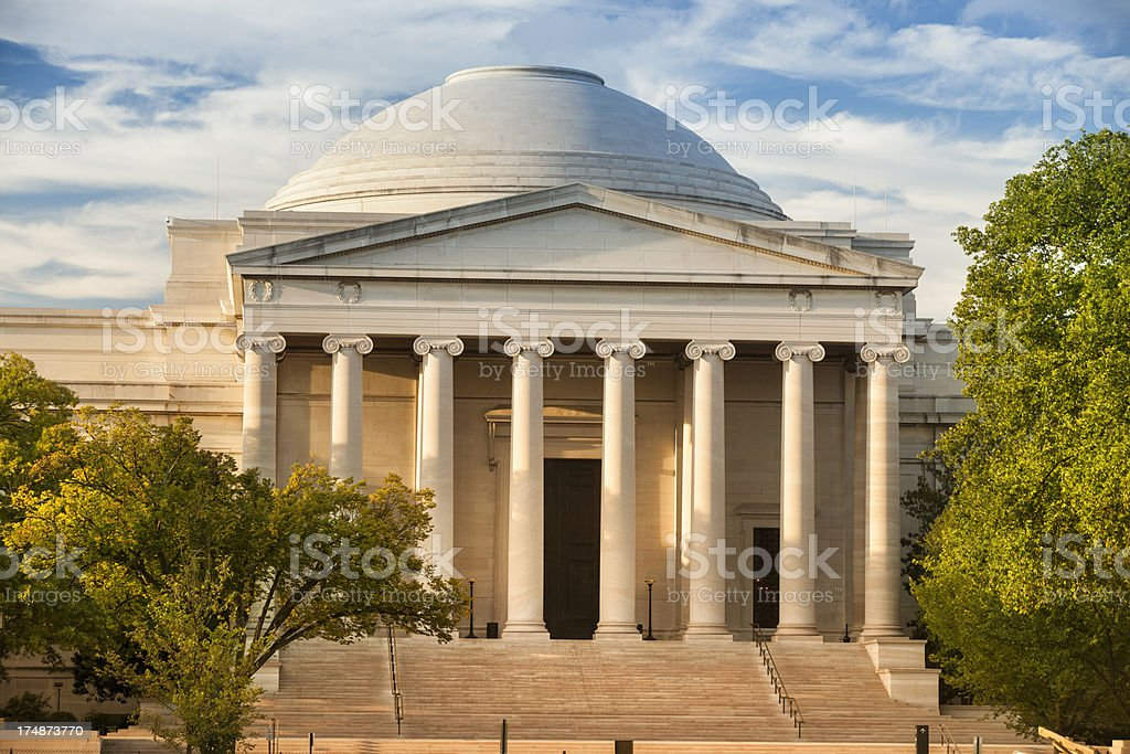 National Gallery of Art, Smithsonian royalty-free stock photo