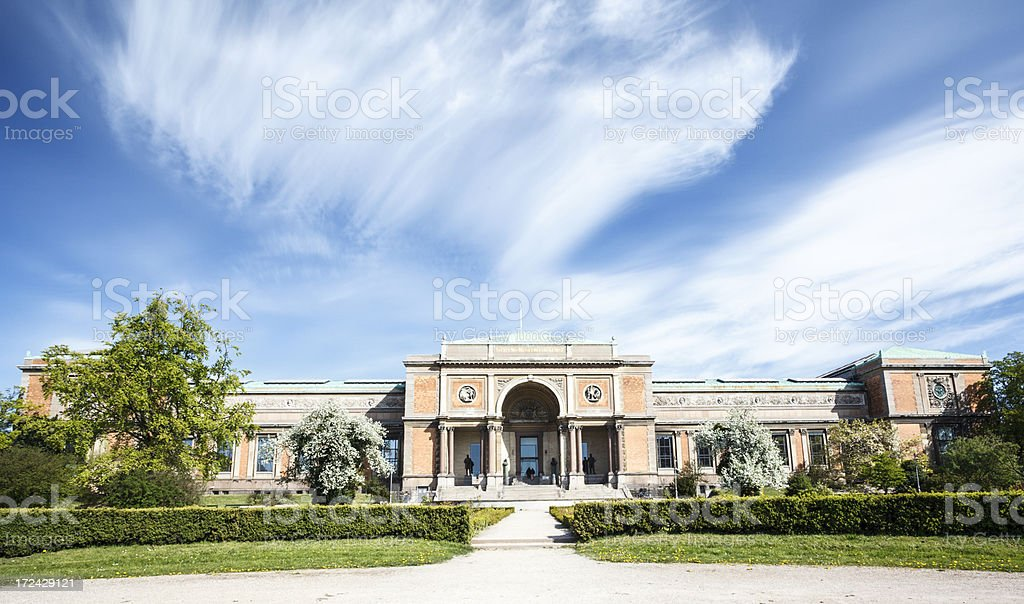National gallery of Denmark royalty-free stock photo