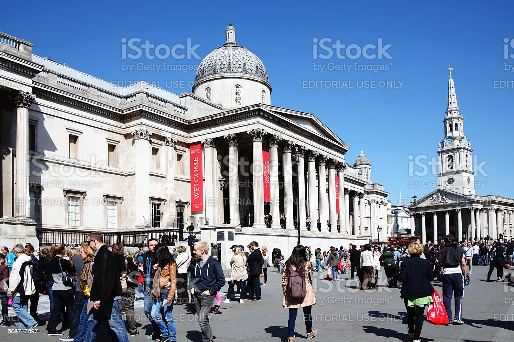National Gallery stock photo
