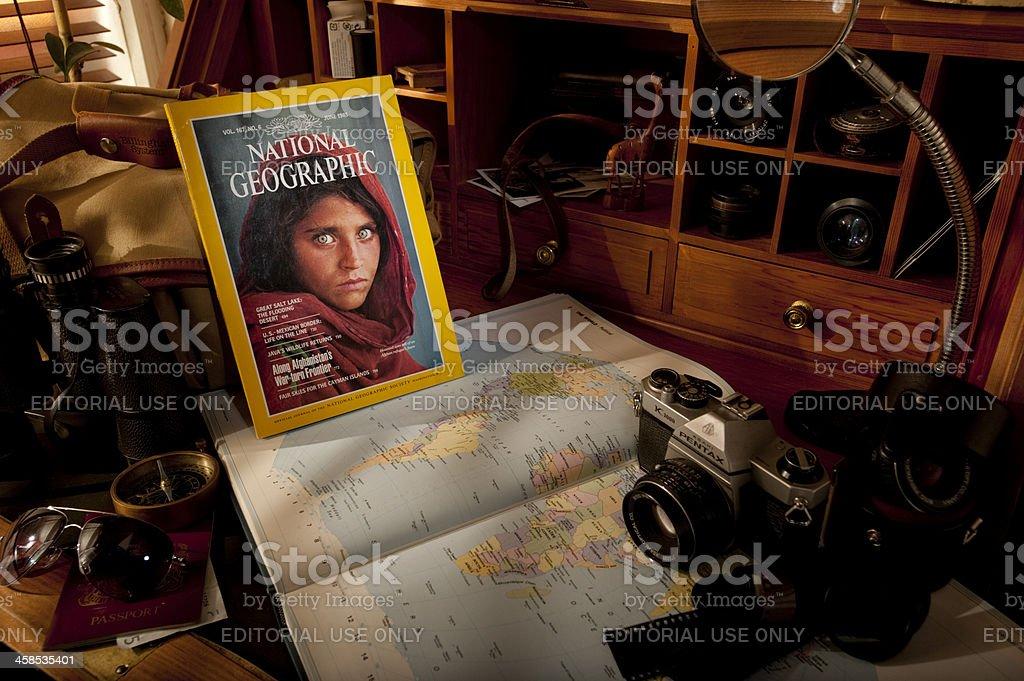 National Geographic Magazine stock photo