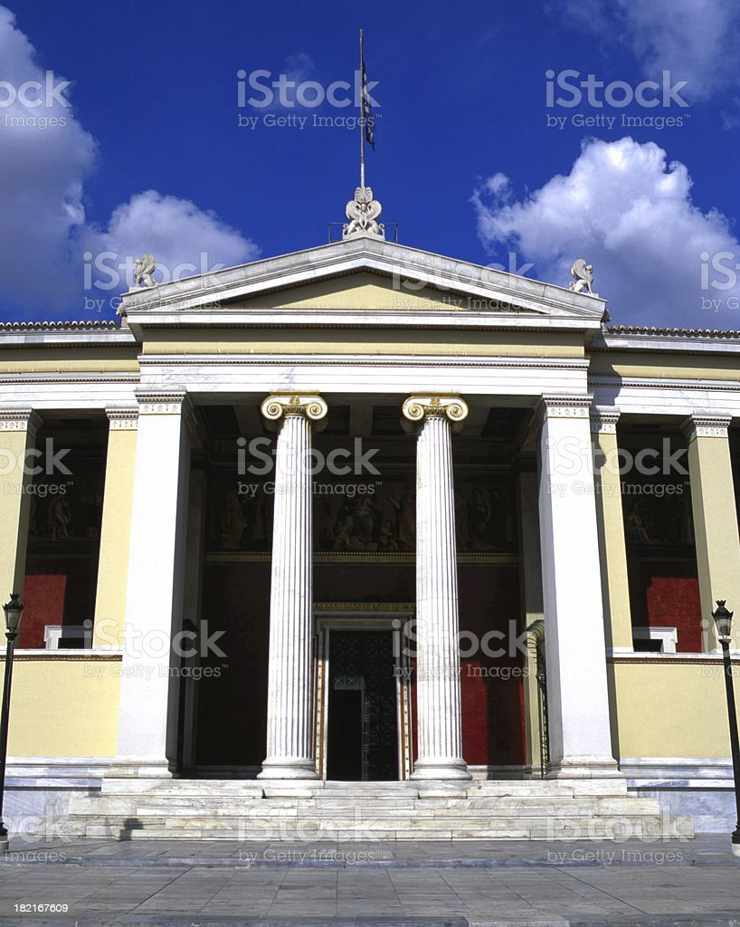 National Historical Museum royalty-free stock photo
