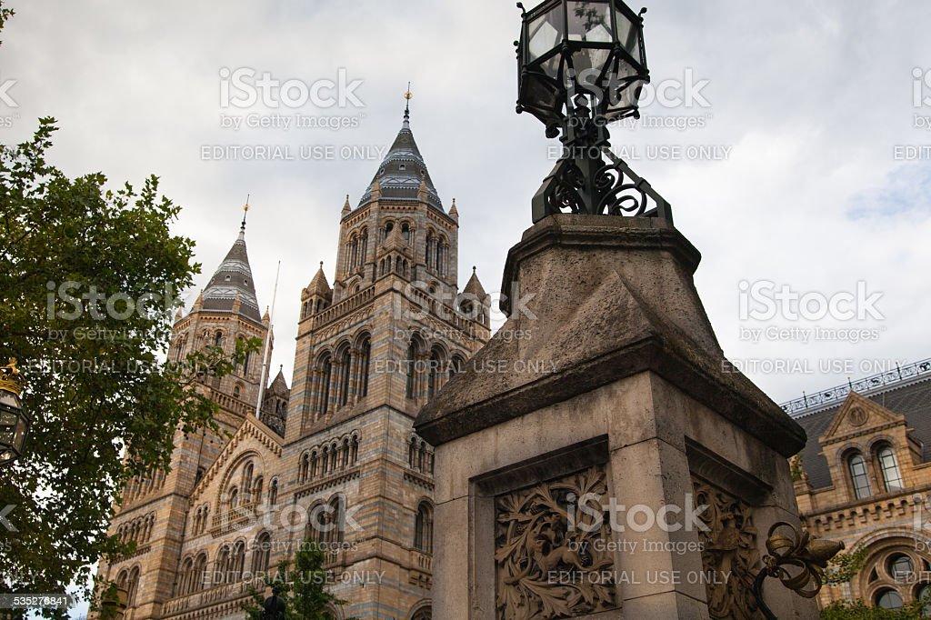 National History Museum, London. stock photo
