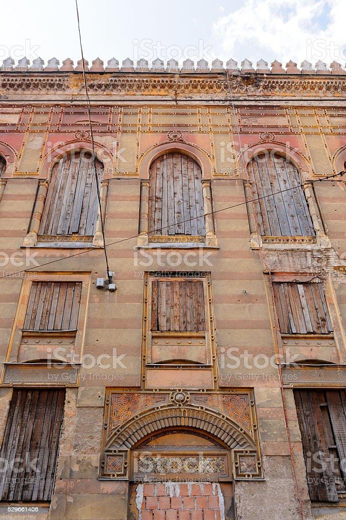 National Library and City Hall at Sarajevo stock photo