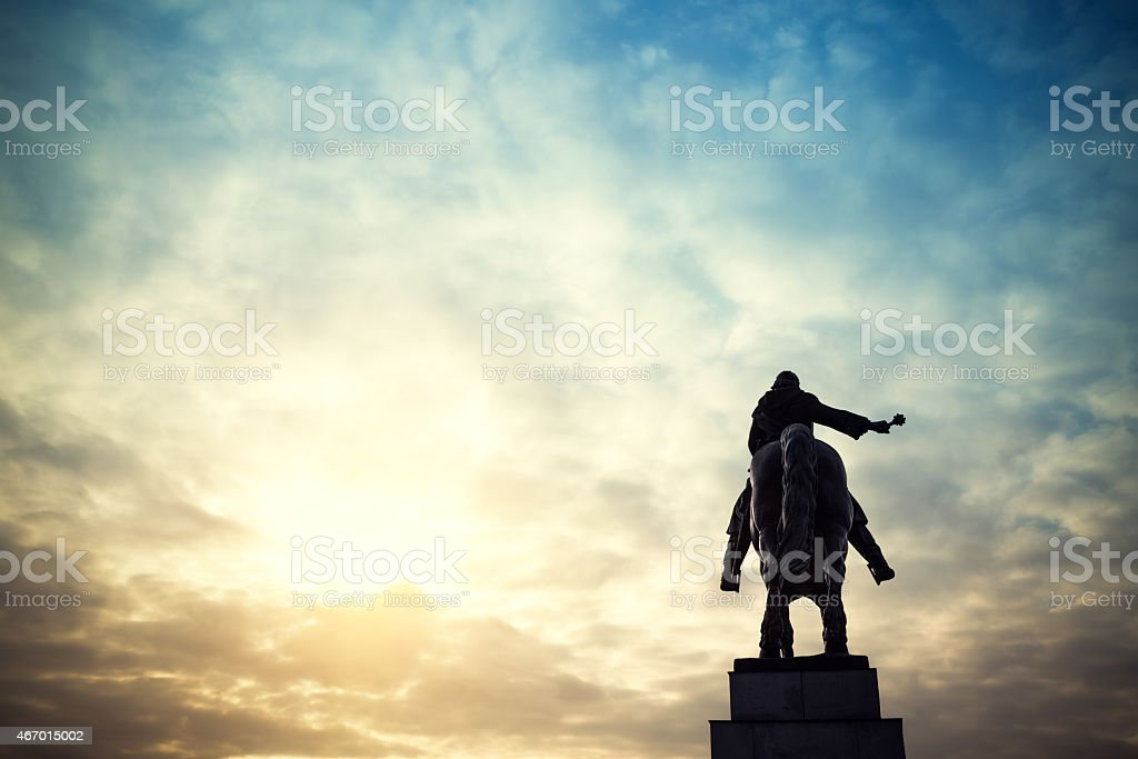 National Memorial At Vitkov Hill stock photo