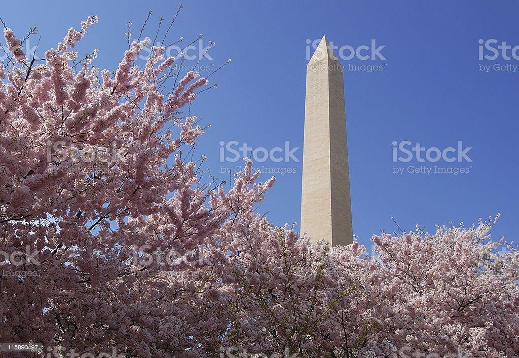 National monument stock photo
