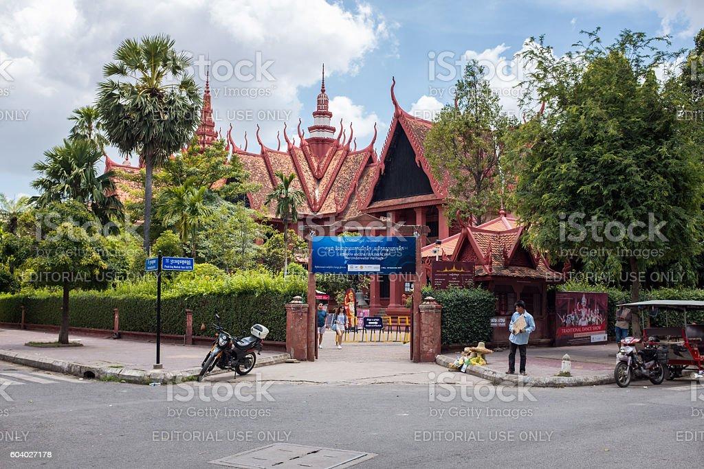 National Museum In Phnom Penh, Cambodia stock photo
