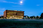 National Museum of African American History and Culture under construction