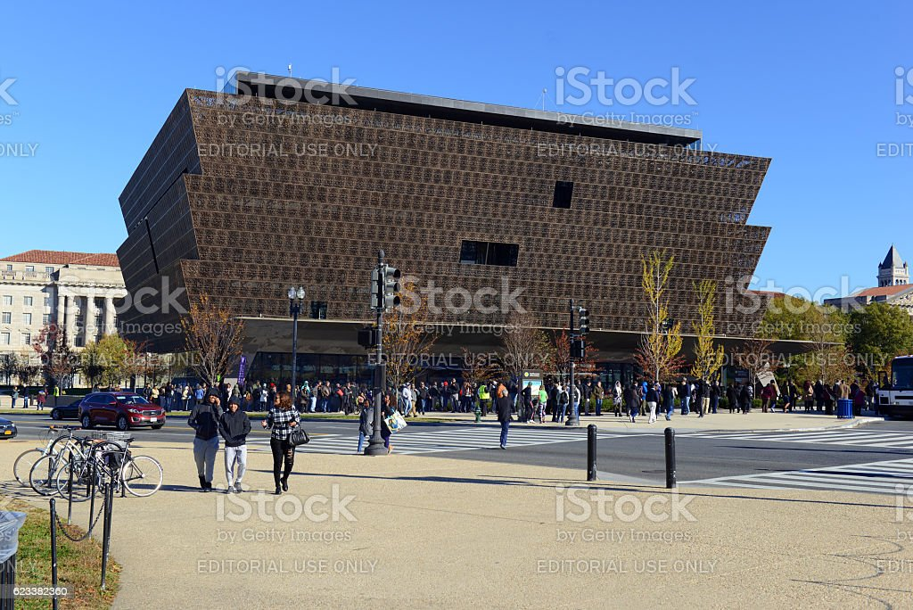 National Museum of African American History stock photo