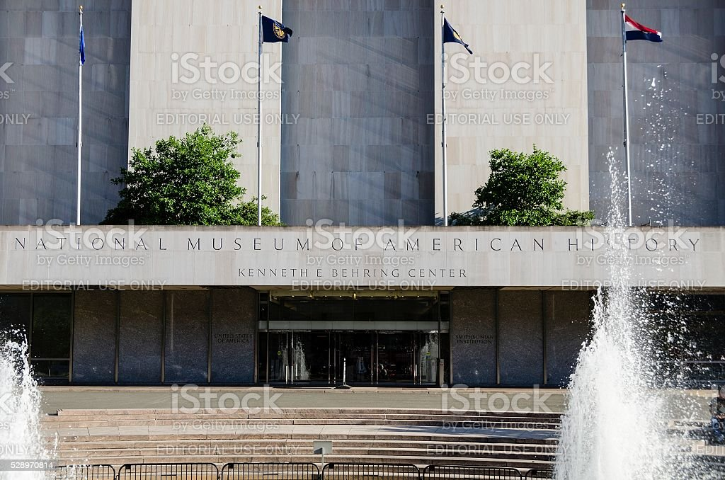 National Museum of American History in Washington DC stock photo