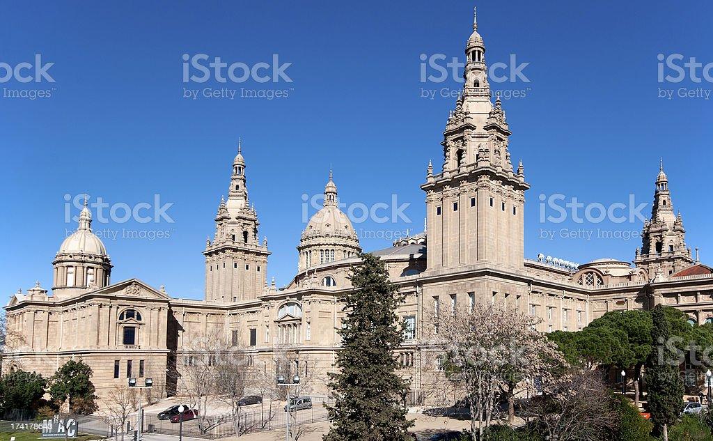 National Museum of Catalan Art (MNAC). Catalonia, Spain stock photo