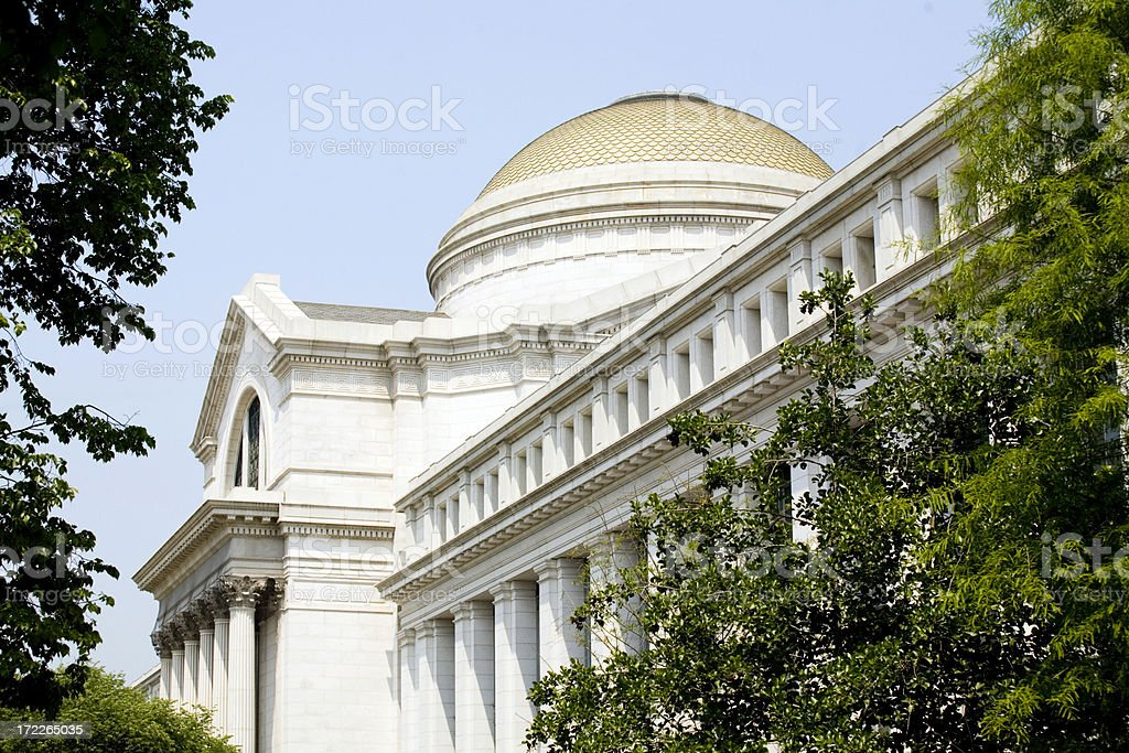 National Museum of Natural History royalty-free stock photo