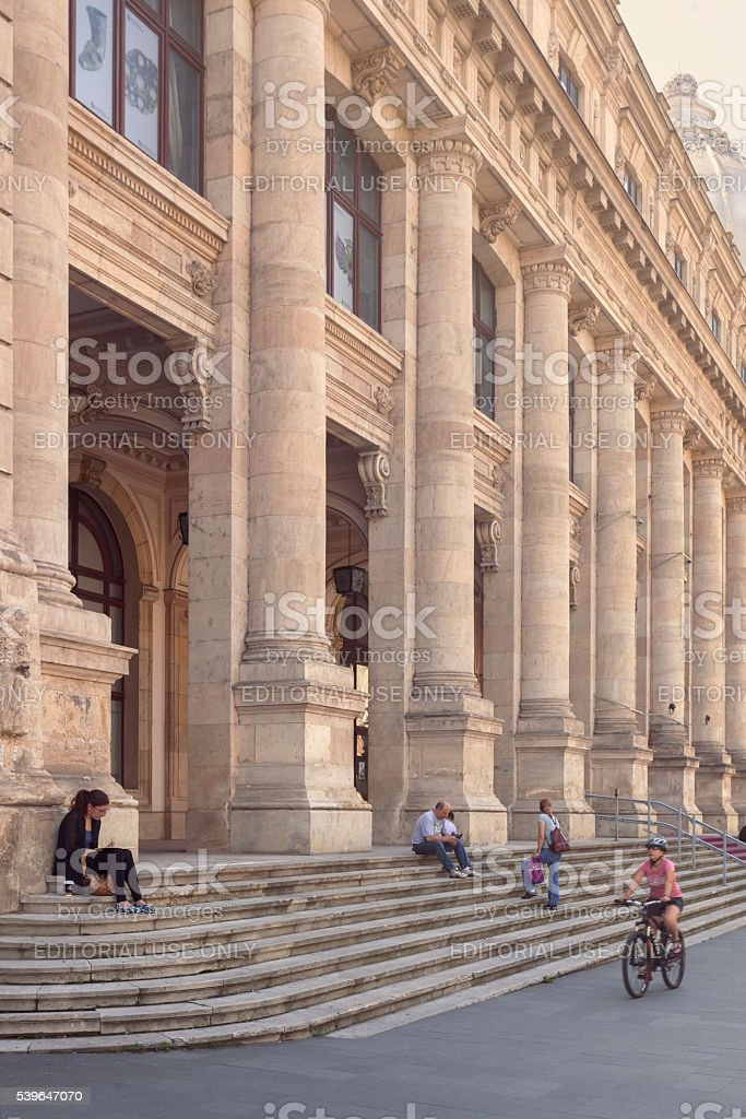 National Museum of Romanian History stock photo