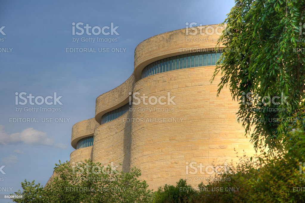 National Museum of the American Indianon theNational Mall stock photo