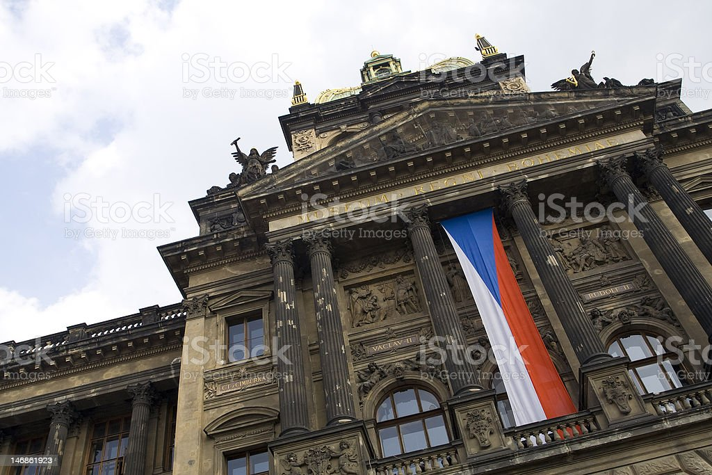National Museum, Prague, Czech Republic stock photo