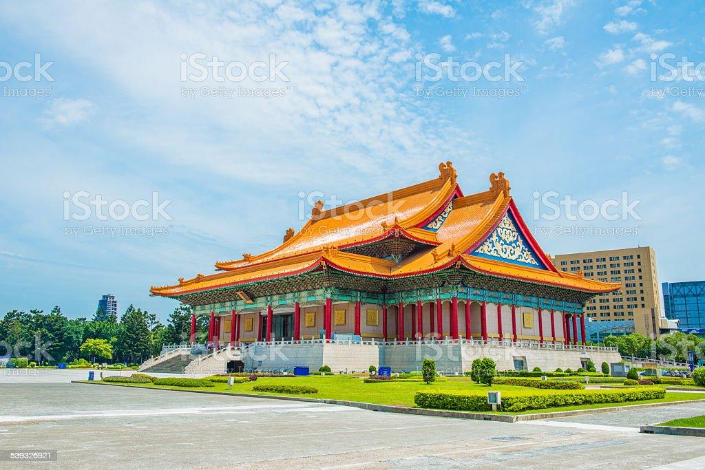 National music Hall of Taiwan stock photo
