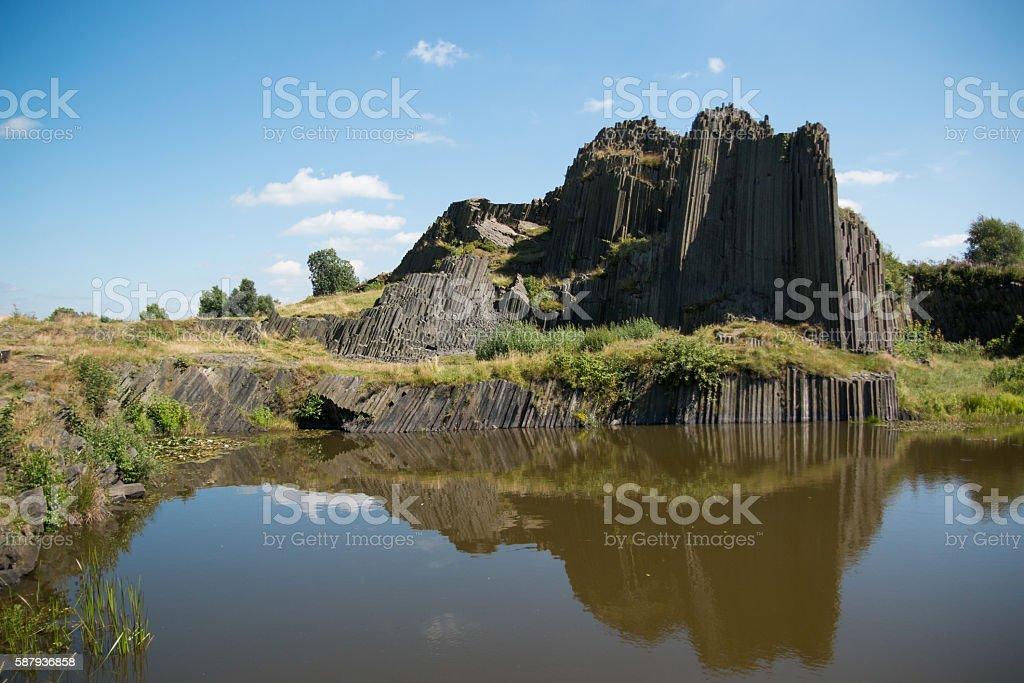 National Natural Monument of Panska Skala stock photo